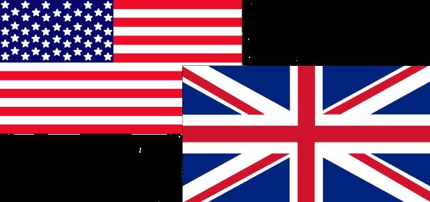 Bandeiras lado a lado